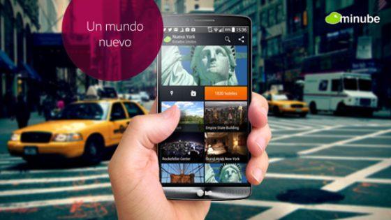 Nueva aplicacion minube para organizar tus fotografias de viaje
