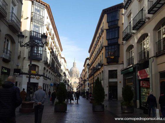 Calle Alfonso I Zaragoza