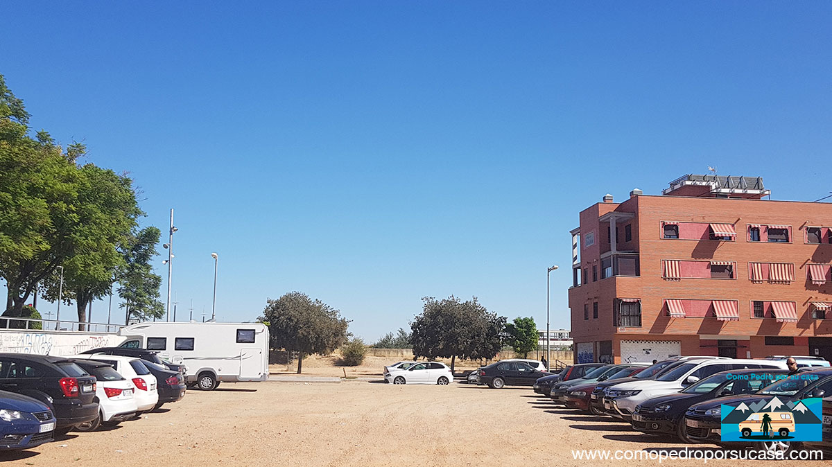 Parking Autocaravana Córdoba