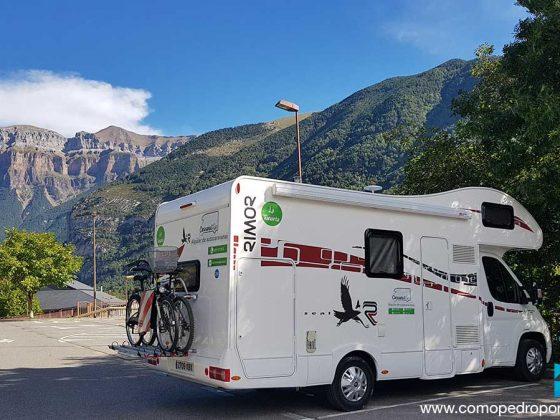 Huesca en Autocaravana